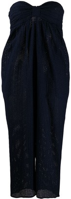 Marysia Swim Tapered Cotton Dress