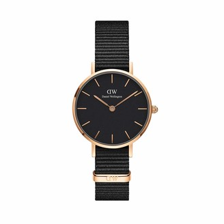 Daniel Wellington Unisex Analogue Quartz Watch with Nylon Strap DW00100247