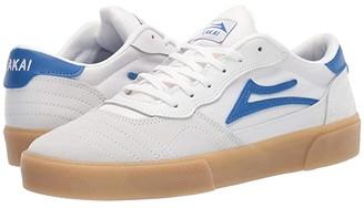 Lakai Cambridge (Black/White Suede 1) Men's Shoes