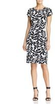 Leota Taylor Leaf Print Dress