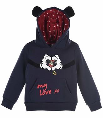 Disney Minnie Mouse Girls Sweat Shirt Red