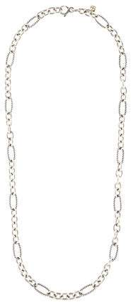 David Yurman Medium Oval Link Necklace