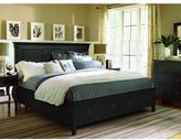 Universal Furniture Summer Hill Complete Storage Bed in Midnight Finish