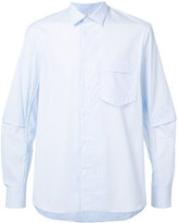 Oamc layered back shirt - men - Cotton - L