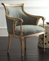 Old Hickory Tannery Slate Gray Chair