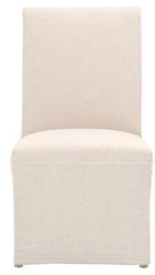 Red Barrel Studioâ® Gibbes Upholstered Parsons Chair (Set of 2) Red Barrel StudioA Color: Jute