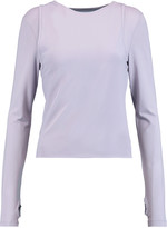 MM6 MAISON MARGIELA Layered stretch-jersey top