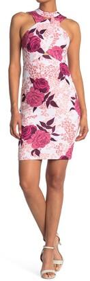 GUESS Floral Sleeveless Dress