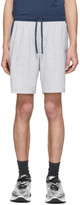 BOSS Grey and Blue Balance Shorts