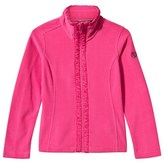 Poivre Blanc Poppy Pink Polar Fleece Jacket