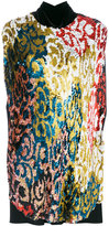 Talbot Runhof Lantern blouse - women - Polyamide/Polyester/Acetate/Metallized Polyester - 34