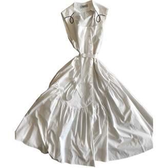 Rachel Comey White Cotton Dress for Women