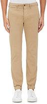 Nlst Men's Cotton Chino Jogger Pants-Tan Size L
