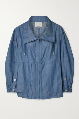 3.1 Phillip Lim Cotton-chambray Jacket - Blue