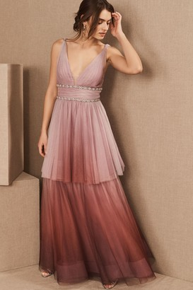 Marchesa Weaver Dress