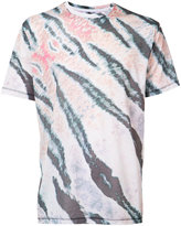 Baja East tiger print T-shirt - men - Cotton/Polyester - 3