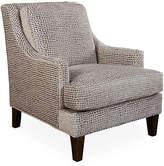 Massoud Furniture Lamor Club Chair - Gray Spots