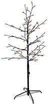 Kurt Adler 4' Multi-Twinkle LED Brown Gumball Tree