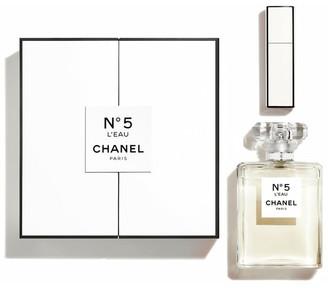 Chanel N°5 L'eau 100 Ml + Mini Twist And Spray 7ml