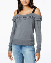 Maison Jules Off-The-Shoulder Ruffled Top, Created for Macy's