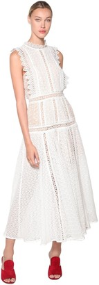 Self-Portrait Self Portrait Lace Midi Dress