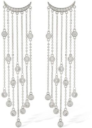FEDERICA TOSI Big Rain Crystal Earrings