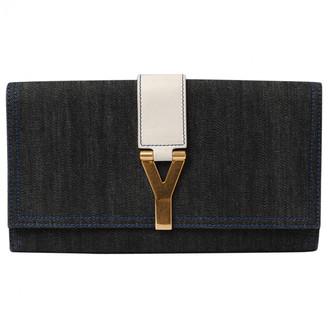 Saint Laurent Chyc Blue Denim - Jeans Clutch bags