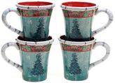Tracy Porter Folklore Holiday 4-pc. Mug Set