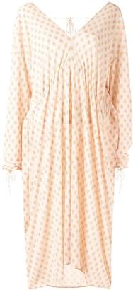 Irene Floral V-Neck Dress