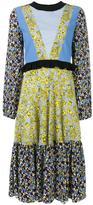 MSGM floral print dress - women - Silk/Polyester - 40