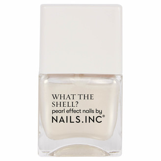 Nails Inc What the Shell World's Your Oyster Babe Top Coat 14ml