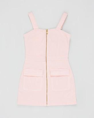 Bardot Junior Tina Denim Zip Dress - Teens