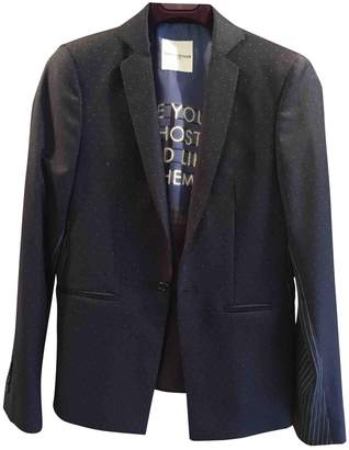 Each X Other Each X Navy Wool Jacket for Women