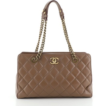 Chanel Perfect Edge Tote Quilted Leather Small