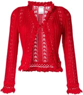 Chanel Pre Owned crochet cardigan
