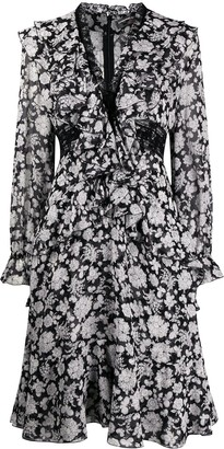 Ermanno Scervino Floral Lace Dress