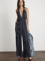 Faithfull The Brand Riley Jumpsuit in Riptide Stripe