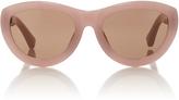 Dries Van Noten Pink Sunglasses