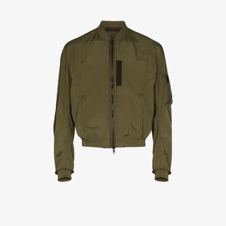 Haider Ackermann Zip-Up Bomber Jacket