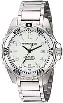 Momentum Women's Quartz Stainless Steel Diving Watch, Color:Silver-Toned (Model: 1M-DN11LS0)