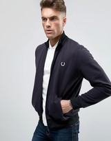 Fred Perry REISSUES Track Jacket Reversed Tricot in Navy