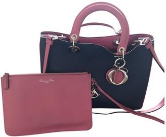Christian Dior Diorissimo Pink Leather Handbags