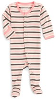 L'ovedbaby Infant Girl's Organic Cotton Footie