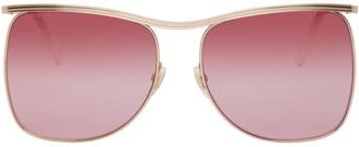 Gucci Gold GG0B20S Sunglasses