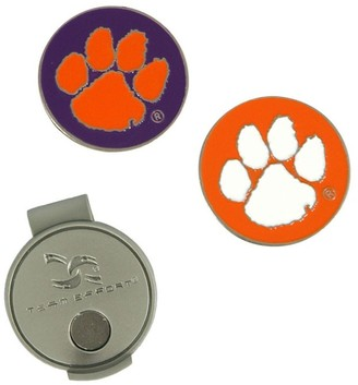 Unbranded Clemson Tigers Hat Clip & Ball Markers Set
