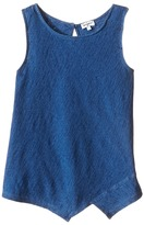 Splendid Littles Indigo Striped High Neck Tank Top (Big Kids)