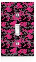 MWCustoms Pink Digital Urban Camo Light Switch Plate
