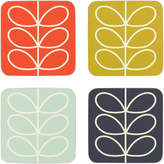 Orla Kiely Coasters Linear Stem (Set of 4)