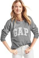 Gap Eyelet logo pullover sweatshirt