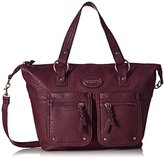 Rosetti Truth or Flare Satchel Top Handle Bag